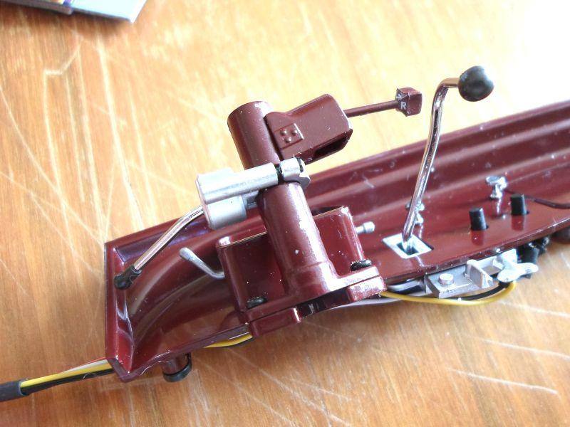 Maquette traction au 1/8ème T2110