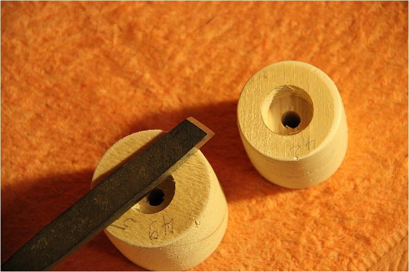 Fabrication d'une poulie en bois Img_2111