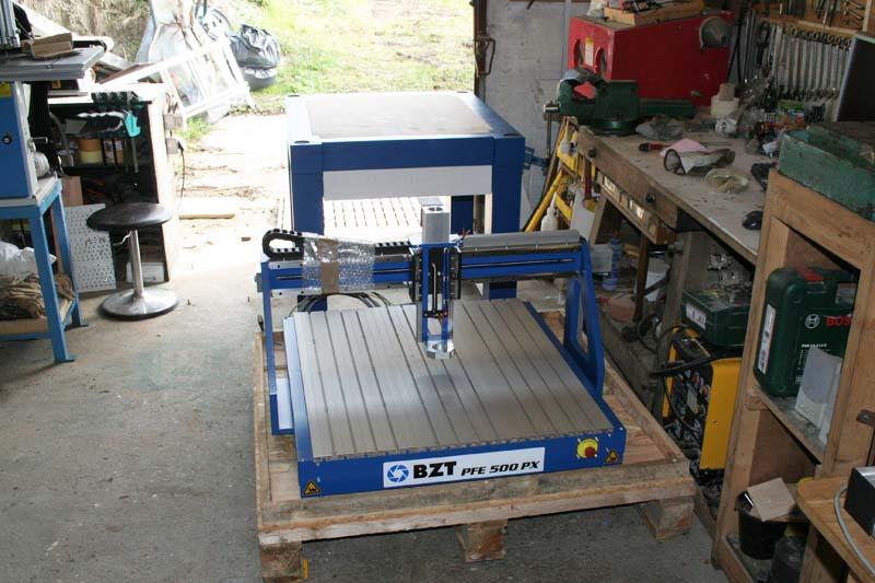 Installation BZT PFE500-PX Bzt50019