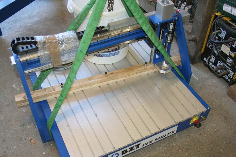 Installation BZT PFE500-PX Bzt50021