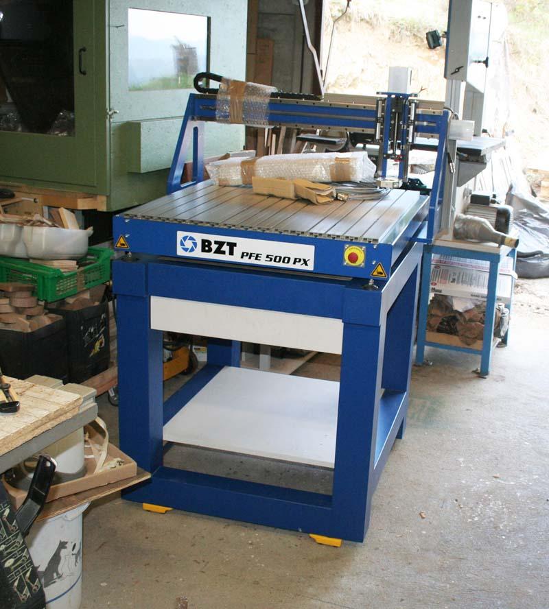 Installation BZT PFE500-PX Bzt50026