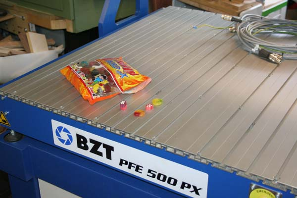 Installation BZT PFE500-PX Bzt50027