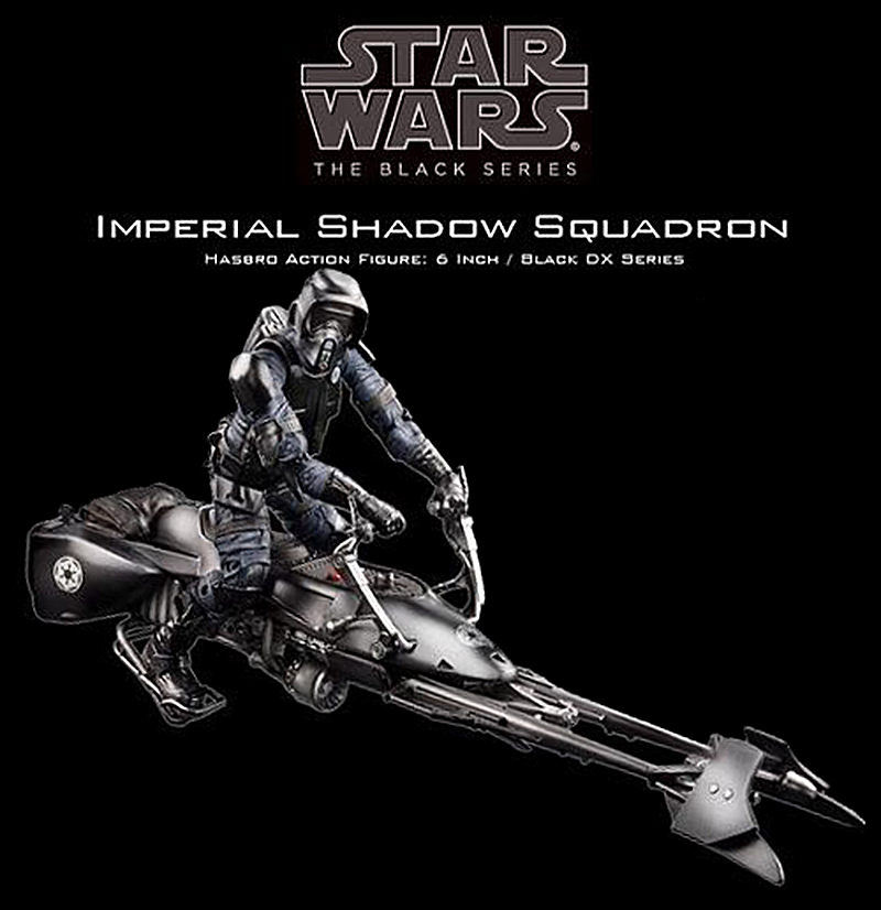 scout trooper and speeder bike star wars  bandai 1/12 Shadow10