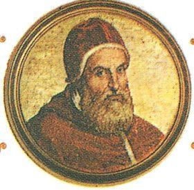 Douzain de Clément VIII contremarqué. 280px-27