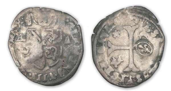 Douzain de Clément VIII contremarqué. Louis-10