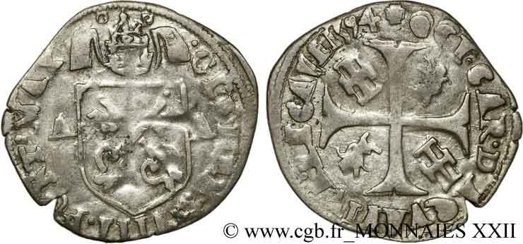 Douzain de Clément VIII contremarqué. V22_0310