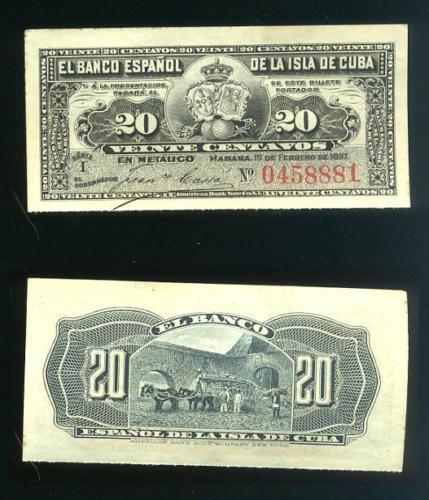 CUBA SUS BILLETES Y MONEDAS 1897_210