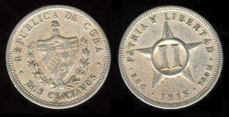 CUBA SUS BILLETES Y MONEDAS 1915-110