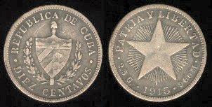 CUBA SUS BILLETES Y MONEDAS 1915-410