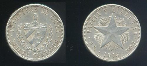 CUBA SUS BILLETES Y MONEDAS 1915_210