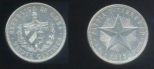 CUBA SUS BILLETES Y MONEDAS 1915_g10