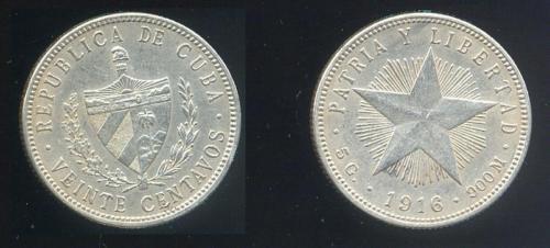 CUBA SUS BILLETES Y MONEDAS 1916_210