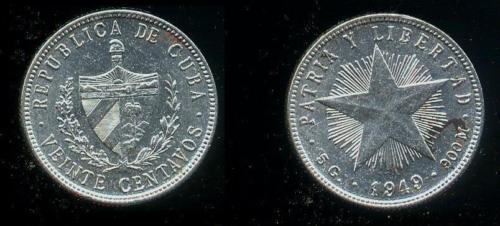 CUBA SUS BILLETES Y MONEDAS 1949_g11