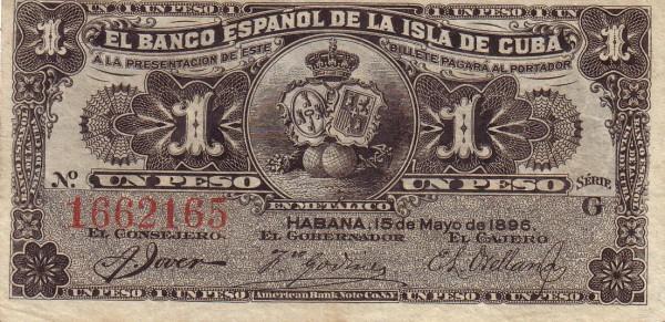 CUBA SUS BILLETES Y MONEDAS Peso10