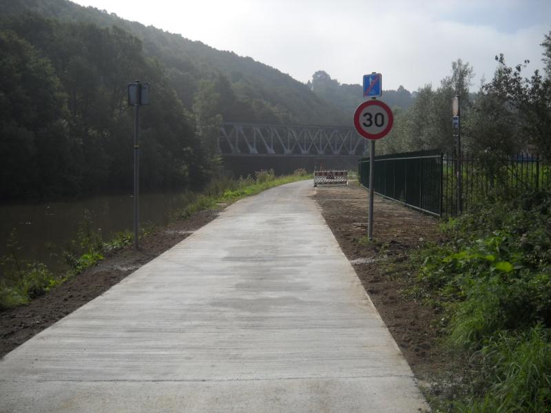 RAVeL 3 (Part 1) Erquelinnes - Marchienne-au-Pont - Eurovelo 3 - EV3 - Itinéraire n°6 Travau11