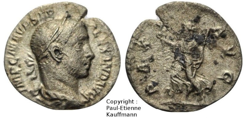 Denier de Sévère Alexandre - Atelier de Rome - RIC#168 Copyri21