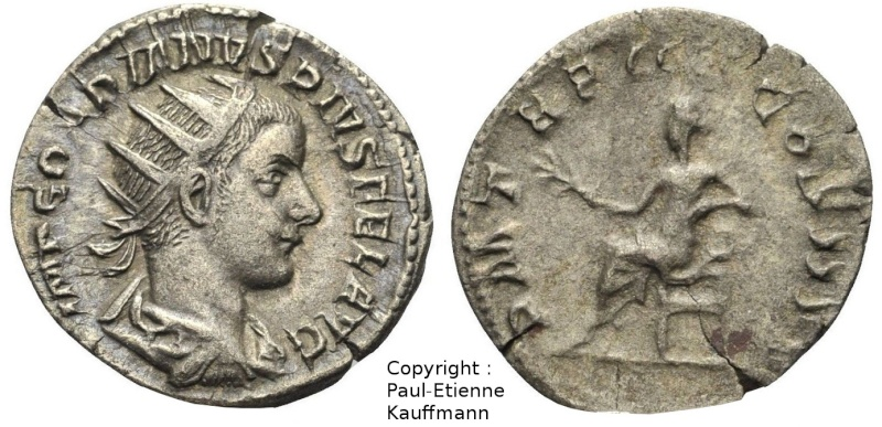 Antoninien de Gordien III - Atelier de Rome - RIC#88 Copyri31