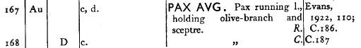 Denier de Sévère Alexandre - Atelier de Rome - RIC#168 Ric16