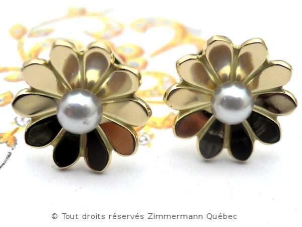 B.O. Fleur 10,8 mm et perle Akoya 3,4 mm Dscn7717