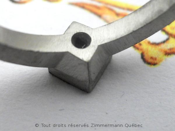 Solitaire palladium avec diamant taille princesse 14/100 ct Dscn7814