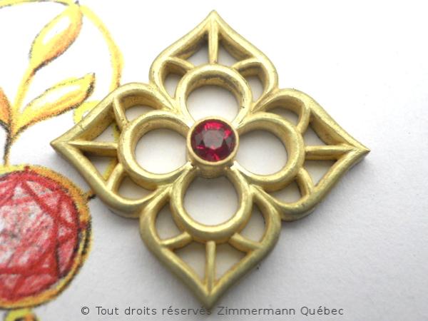 Fleur ajourée, rubis et diamants Dscn8014