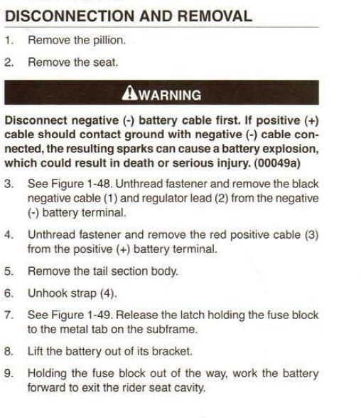CR 1125 Démontage de la batterie Batter10