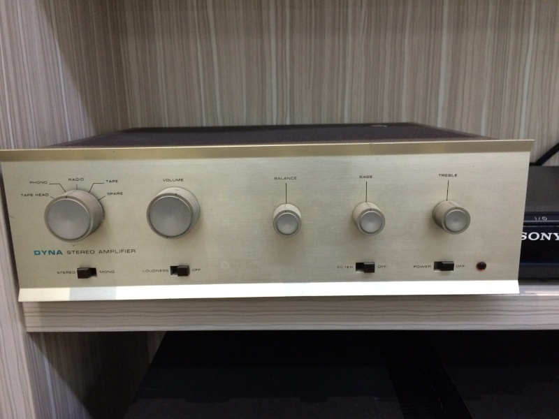 Dynaco SCA35 Tube Intergrated Amplifier (sold)