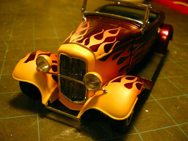 Ford 32 Flambée Paint110