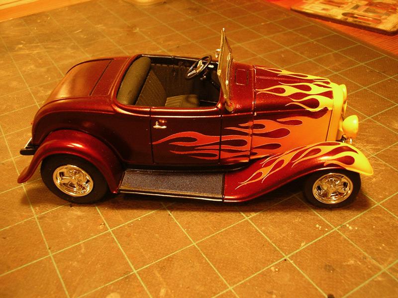 Ford 32 Flambée Paint210