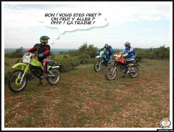 Sortie avec la moto du mois Depart10