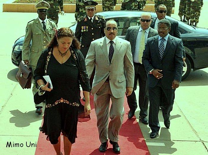 La Mauritanie avec le general president navigue en mer houleuse Ould_a10