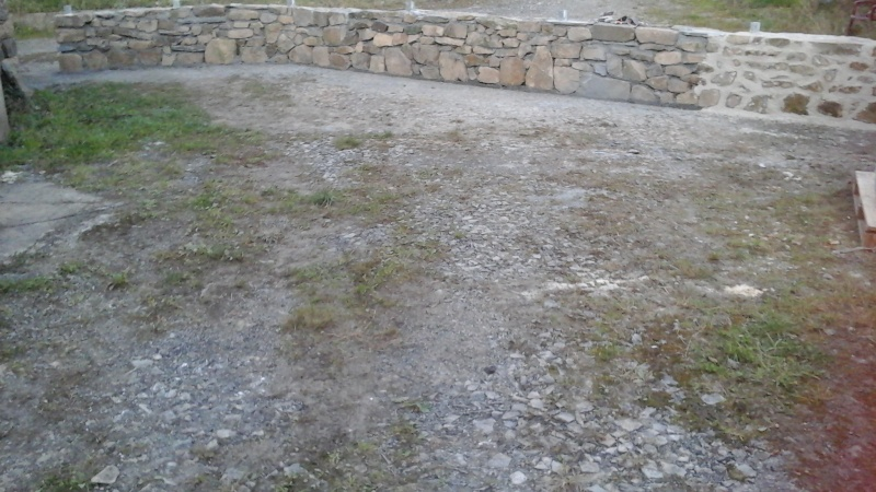 Construction muret en pierre 20150918