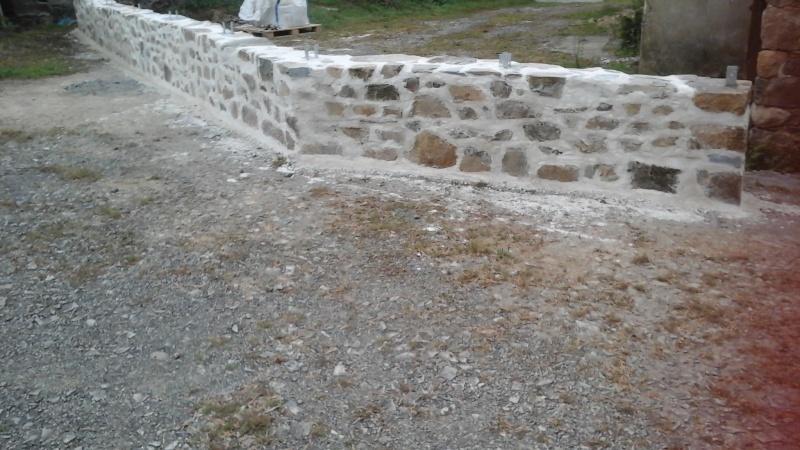Construction muret en pierre 20151012