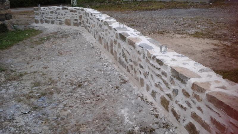 Construction muret en pierre 20151013