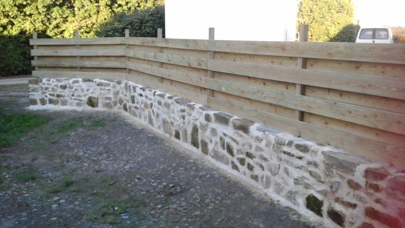 Construction muret en pierre 20151110