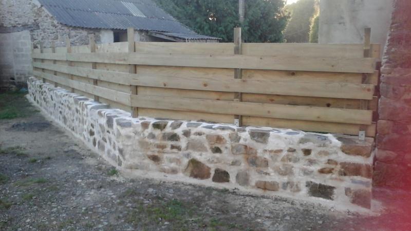 Construction muret en pierre 20151111