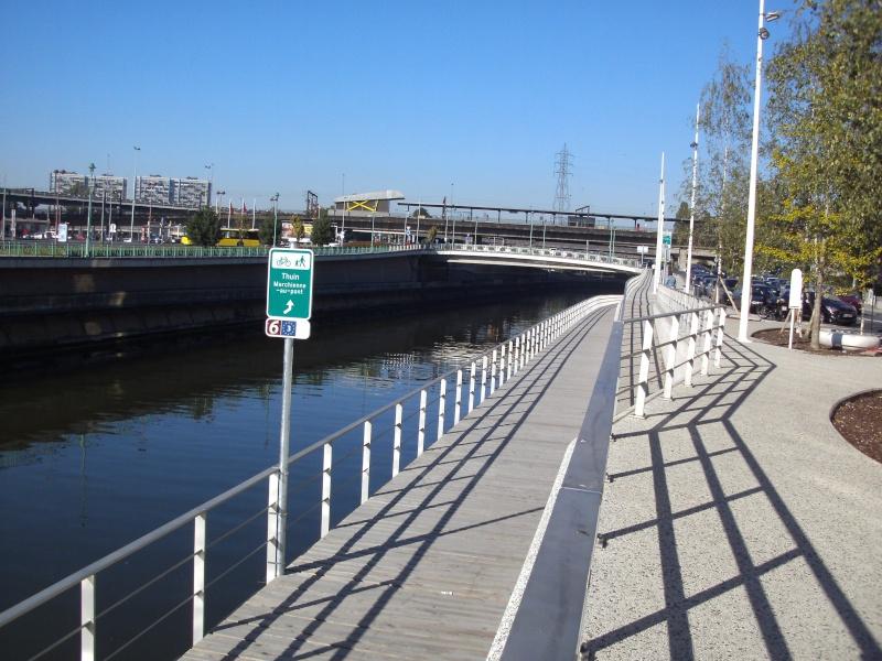 RAVeL 1 Centre (Part 4b) Marchienne-au-pont  - Chatelet (RAVeL 1 Bis) - Eurovelo 3 - EV3 - Itinéraire N°6 Charle10