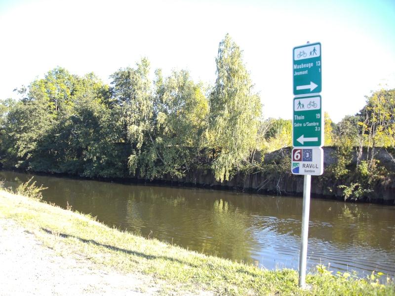 RAVeL 1 Centre (Part 4b) Marchienne-au-pont  - Chatelet (RAVeL 1 Bis) - Eurovelo 3 - EV3 - Itinéraire N°6 Pict4310