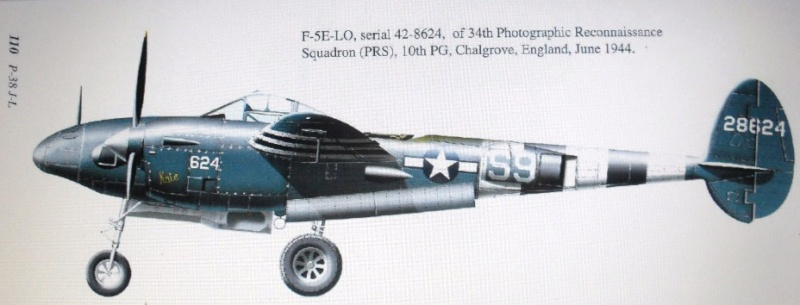 P-38J Conversion to F-5E in 1/32 00110