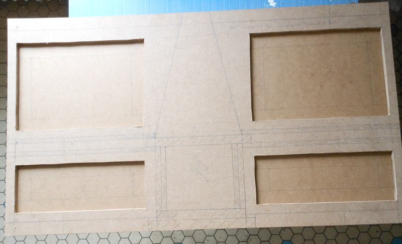 [Diorama] La pièce inspirée du tableau de Gustave Caillebotte Les Raboteurs de Parquet Dscn3413
