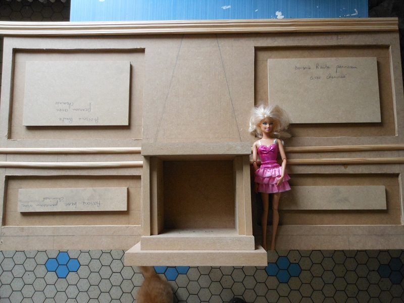 [Diorama] La pièce inspirée du tableau de Gustave Caillebotte Les Raboteurs de Parquet Dscn3419
