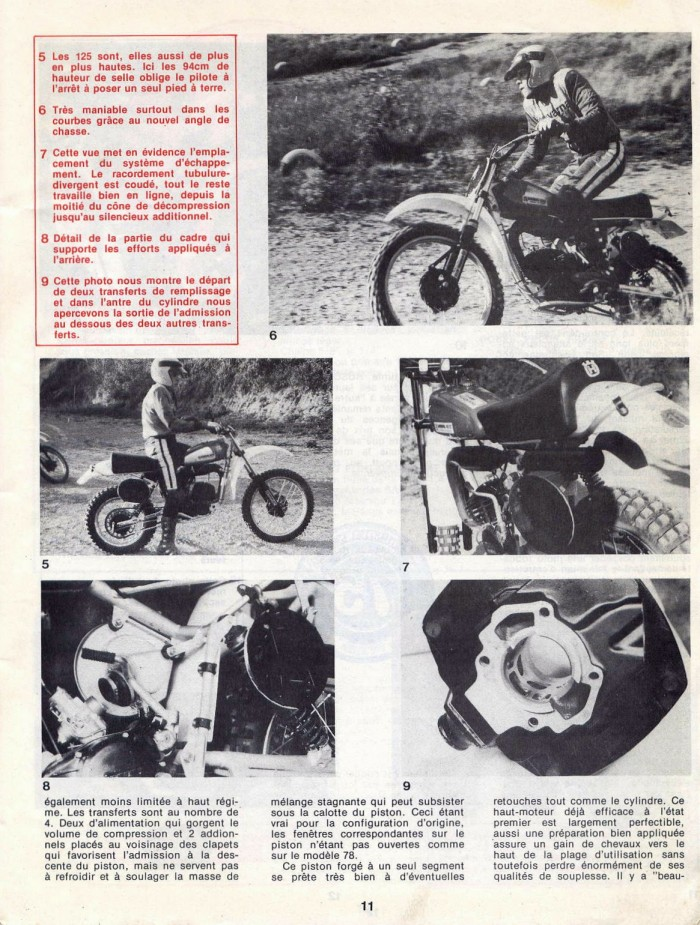 Essai de l 'HUSQVARNA 125 CR/ CROSS 1979 25076916