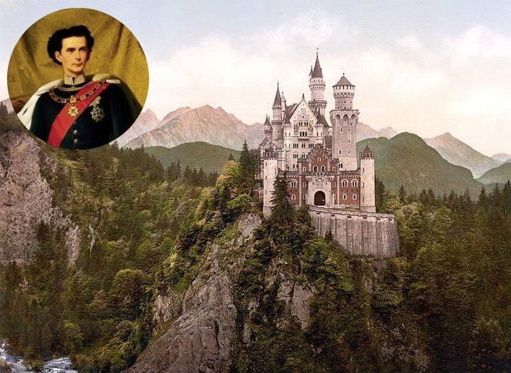 Montages de Louis II de Bavière et sa famille  Pixiz-47
