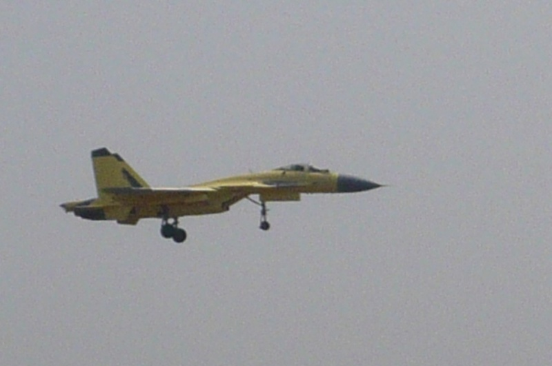 Chinese J-15 Carrier-borne Fighter J-15-211