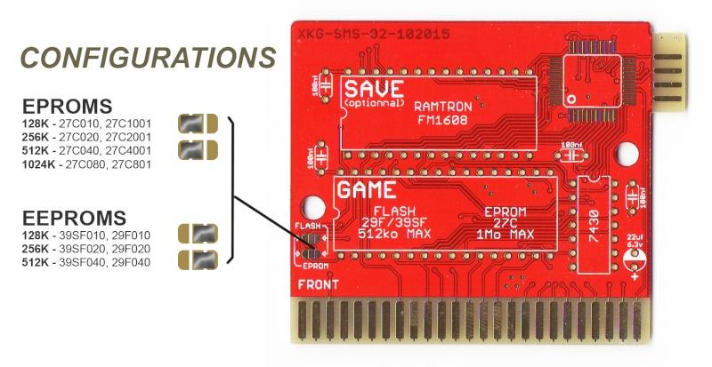 [vente] PCB Master System full DIP avec Mapper 1Mo Xkg02_10