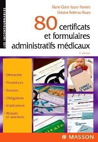 80 certificats et formulaires administratifs médicaux 40890210