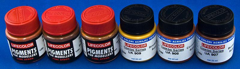 [PEINTURE] Peinture rouillée avec la technique du sel Colour10