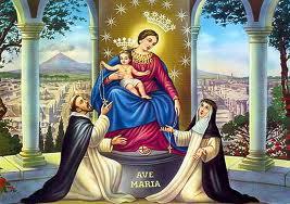 7 octobre Fête de Notre-Dame de Pompéi, Reine du Rosaire! Aaaaaa12