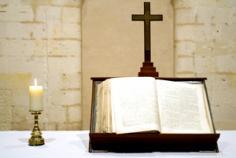 """Allons à la messe  """"En Dieu seul, le repos de notre âme"""" Bible013"""