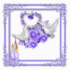 """"""" 31 Mai = 31ème Prière """" Mois de Marie offrons à notre Maman du ciel une petite couronne """" Bougie13"""